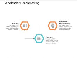 Wholesaler Benchmarking Ppt Powerpoint Presentation Summary Templates Cpb
