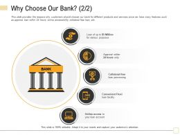Why Choose Our Bank Flexi M1790 Ppt Powerpoint Presentation Infographic Template File Formats