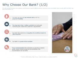 Why Choose Our Bank Payment Ppt Powerpoint Presentation Inspiration Themes