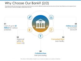 Why Choose Our Bank Within M2377 Ppt Powerpoint Presentation Show Layout Ideas