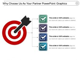 Why Choose Us As Your Partner Powerpoint Graphics