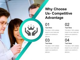 Why Choose Us Competitive Advantage Powerpoint Images