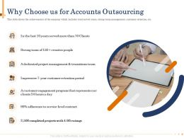 Why Choose Us For Accounts Outsourcing N498 Ppt Powerpoint Presentation Download