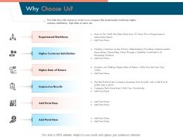 Why Choose Us Ppt Powerpoint Presentation Model Visuals