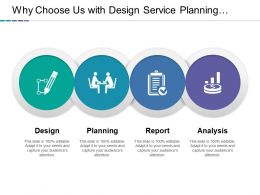 Why Choose Us With Design Service Planning Reports And Analysis