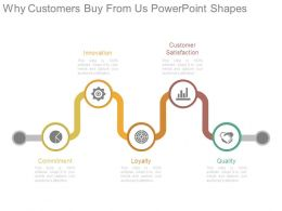 Why Customers Buy From Us Powerpoint Shapes