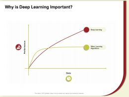 Why Is Deep Learning Important Other M614 Ppt Powerpoint Presentation Ideas Layouts
