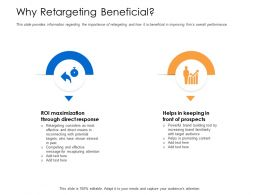 Why Retargeting Beneficial Familiarity Powerpoint Presentation Skills