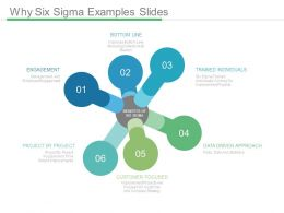 Why Six Sigma Examples Slides