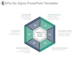 Why Six Sigma Powerpoint Templates