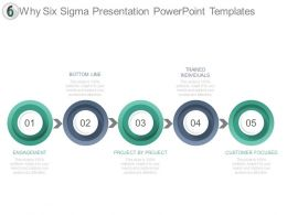 Why Six Sigma Presentation Powerpoint Templates