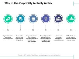 Why To Use Capability Maturity Matrix Winner Gear Ppt Powerpoint Presentation Slides Slideshow