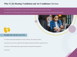 Why Us For Heating Ventilation And Air Conditioner Services Ppt Inspiration