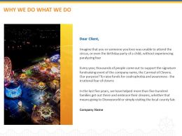 Why We Do What We Do Ppt Powerpoint Presentation Microsoft