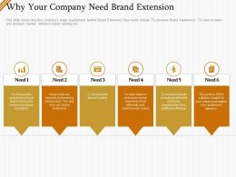 Why Your Company Need Brand Extension Ppt File Slides