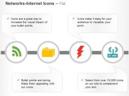 Wifi Folder Energy Network Communication Ppt Icons Graphics