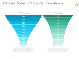 Win Loss Review Ppt Sample Presentations