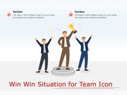 Win Win Situation For Team Icon