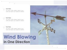 Wind Blowing In One Direction