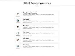 Wind Energy Insurance Ppt Powerpoint Presentation Inspiration Mockup Cpb