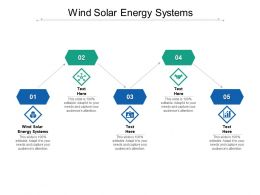 Wind Solar Energy Systems Ppt Powerpoint Presentation Design Templates Cpb