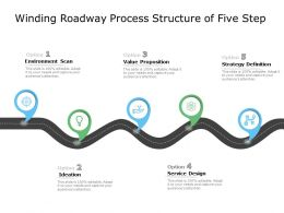 Winding Roadway Process Structure Of Five Step
