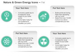 Windmill Solar Power Domestic Use Nuclear Power Generation Ppt Icons Graphics