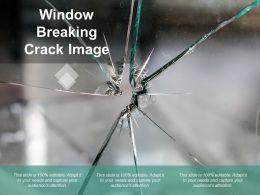 Window Breaking Crack Image