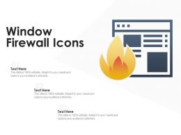 Window Firewall Icons