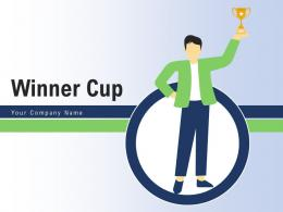 Winner Cup Business Competition Individual Competitors Employee Illustrating