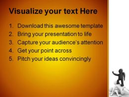 Winner Over The Lost Success PowerPoint Template 0910  Presentation Themes and Graphics Slide02