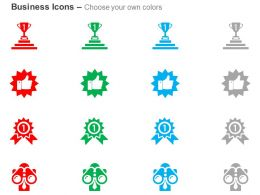 Winner Recommendation Award Vision Ppt Icons Graphic