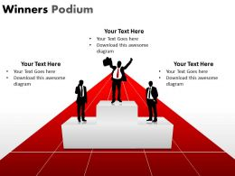Winners Podium PPT 14