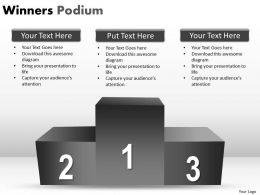 Winners Podium PPT 4