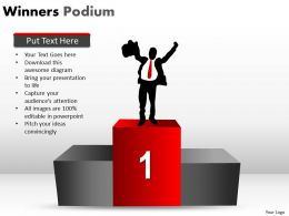 Winners Podium PPT 5