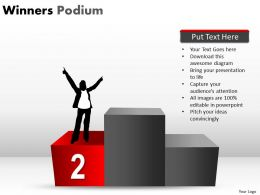 Winners Podium PPT 6