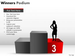 Winners Podium PPT 7