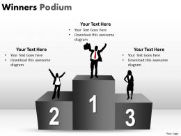 Winners Podium PPT 8