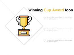 Winning Cup Award Icon