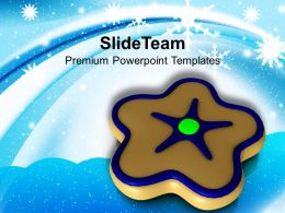 Winter Holidays Christmas Clipart Cookies Candies Food Powerpoint Templates Ppt For Slides