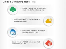 Wireless Communication Media Transfer Cloud Computing Ppt Icons Graphics