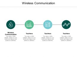 Wireless Communication Ppt Powerpoint Presentation Pictures Portfolio Cpb