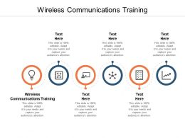 Wireless Communications Training Ppt Powerpoint Model Themes Cpb