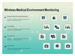 Wireless Medical Environment Monitoring Ppt Powerpoint Presentation Professional