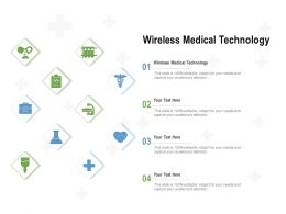 Wireless Medical Technology Ppt Powerpoint Presentation Pictures Slide