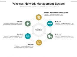 Wireless Network Management System Ppt Powerpoint Presentation Layouts Format Cpb