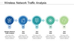 Wireless Network Traffic Analysis Ppt Powerpoint Presentation File Infographics Cpb