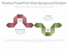 Wireless Powerpoint Slide Background Designs