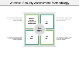 Wireless Security Assessment Methodology Ppt Powerpoint Presentation Slides Skills Cpb