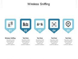 Wireless Sniffing Ppt Powerpoint Presentation Portfolio Ideas Cpb